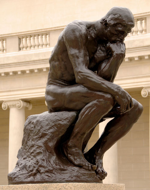 Photo of thinker